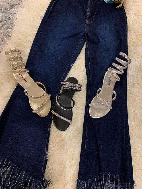 Rhinestone sandals sale styluxe