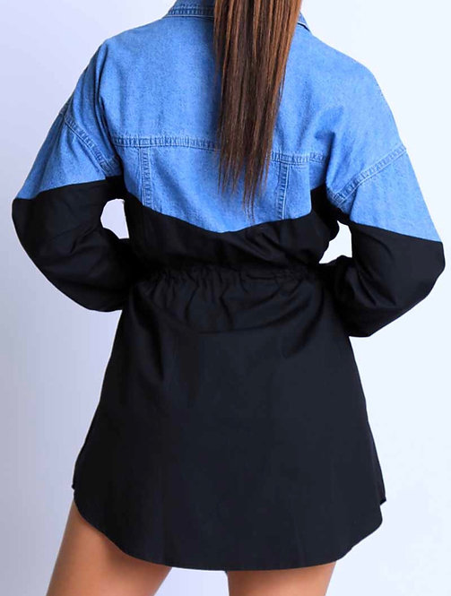 Denim and black dress  small  only