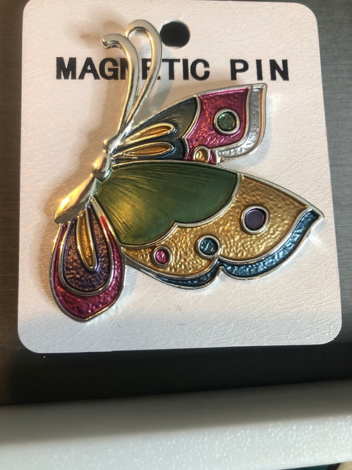 Butterfly magnetic Pin