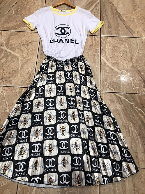 Bumble bee skirt one size fit most