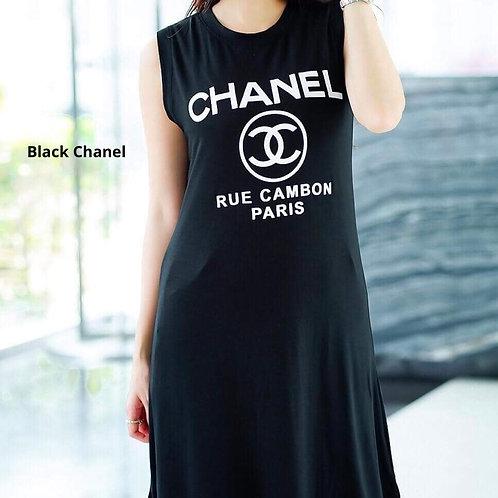 Inspired Designer T-shirt Dress
