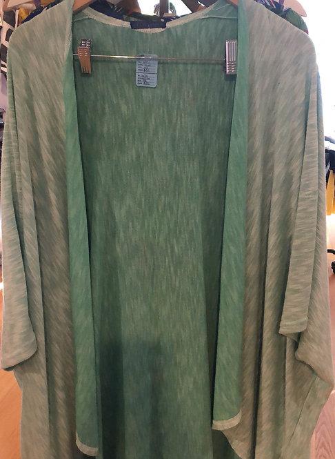 Elietian shawl green  one size