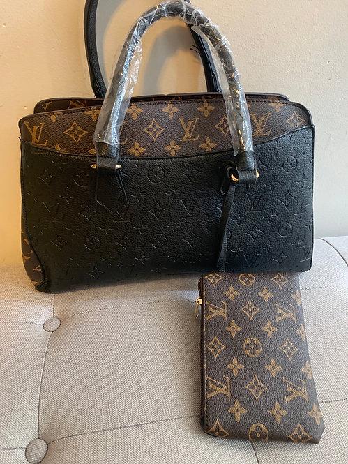 Inspired LV bag  medium tote