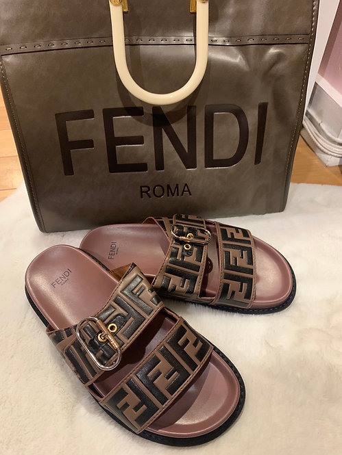 High-quality new FF sandals