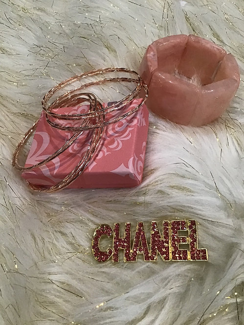 9pc bangles rose gold only