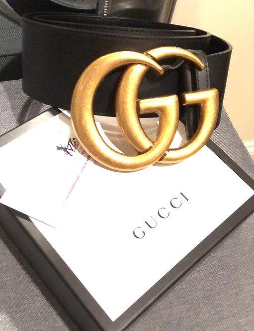 Large GG belt black only