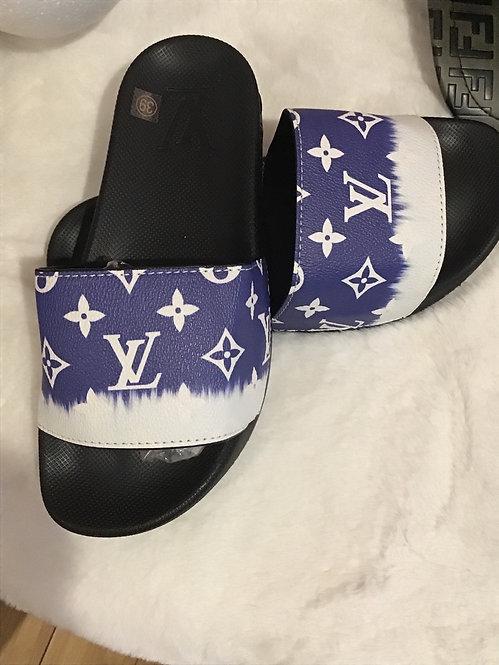 LV blue slides
