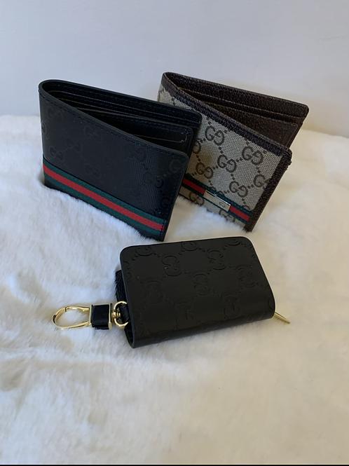 Black GG keychain