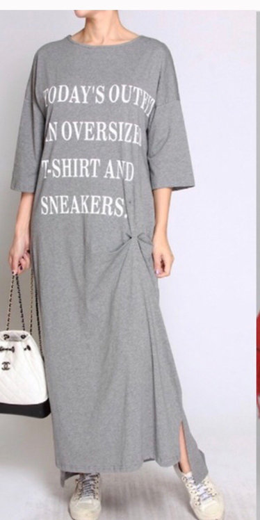 Sneaker dress