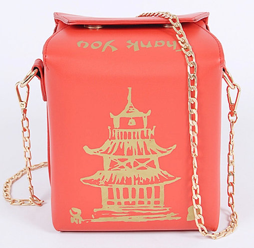 Take out purse  Red