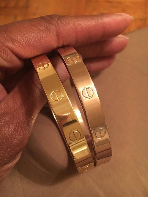 Inspired Cartier Bracelet
