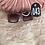 Thumbnail: Blinged Out Square Shape Sunglasses 043