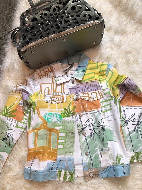 Dolcezza Palms spring jacket 20668