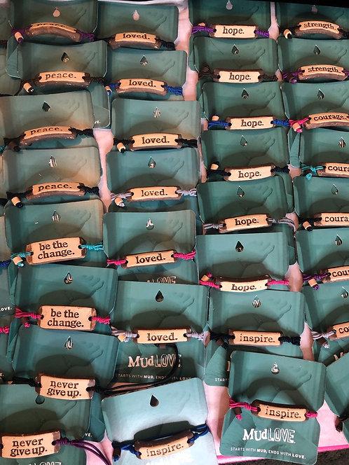 Mudd bracelets