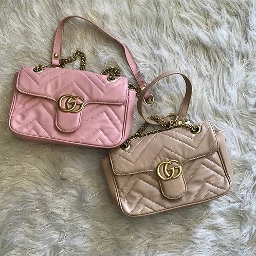 GG heart handbag