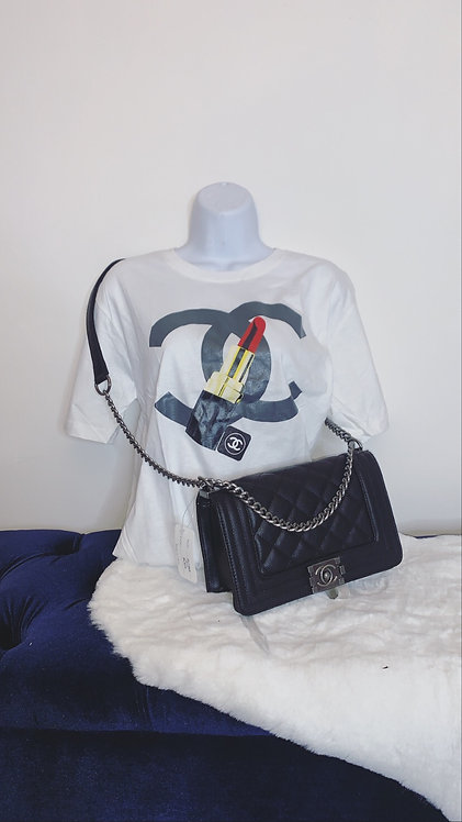 CC lipstick T-shirt