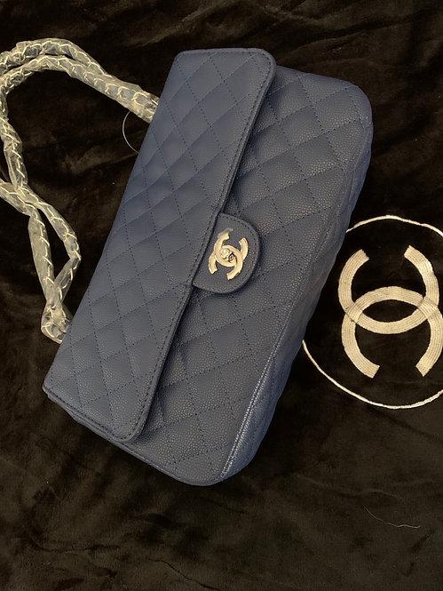 classic CC handbag  silver hardware