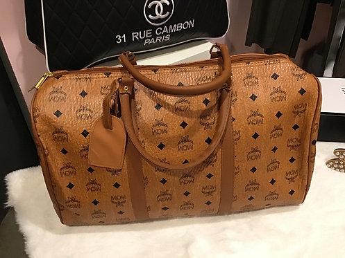 Inspired mcm duffel  medium size