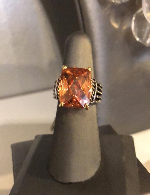 Citrine stone fashion jewelry