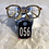 Thumbnail: Rainbow Bling Cream Glasses 056