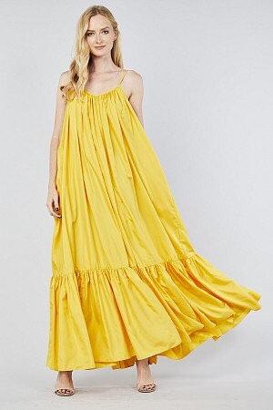 Tov Rideau Dress  Spaghetti strap A-line dress
