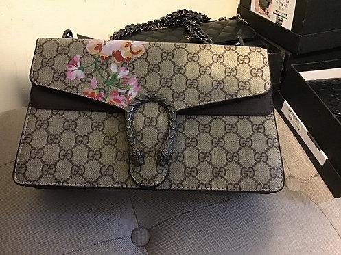 GG flower handbag #701-1