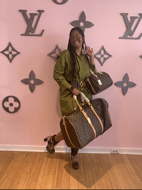 Inspired Lv duffel  55 size