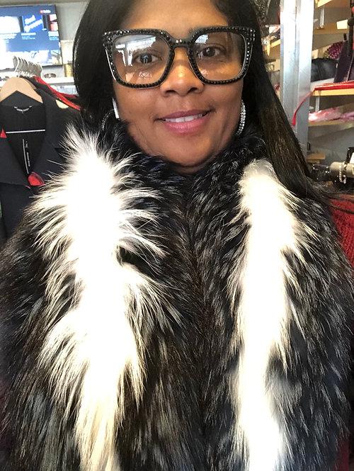 Fur collar Marla NCf1346