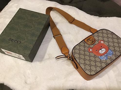 Gucci Inspired Teddy Bear Bag