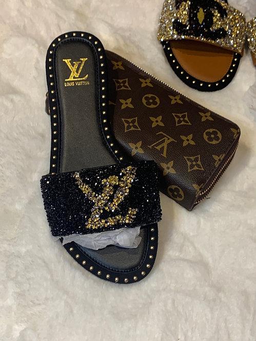 Bling LV sandals