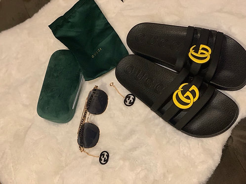 Gucci Inspired Slides Size : 45