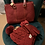 Thumbnail: Soft embossed Lv print handbag L0828-2