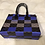 Thumbnail: Black & Blue Checkered Lv Bag