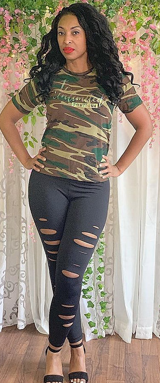 Camo TC unlimited Boutique Tee