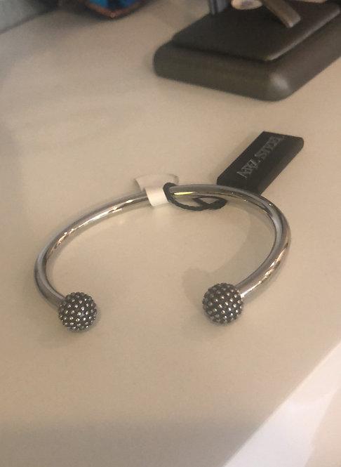 Arz  steel cuff bracelet bangle asb129