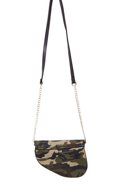 Black holster crossbody purse
