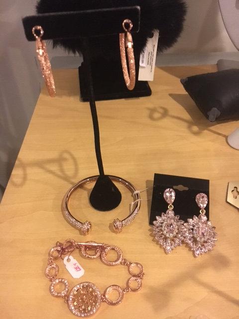 Rose Gold Hoop Earring (Small)