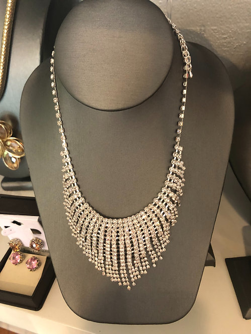 New rhinestone necklace sale