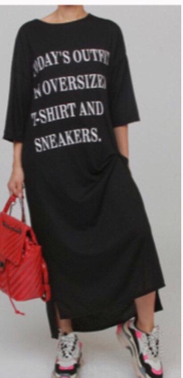 Plus sneaker dress