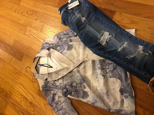 Cello Distressed  Jeans  curvy