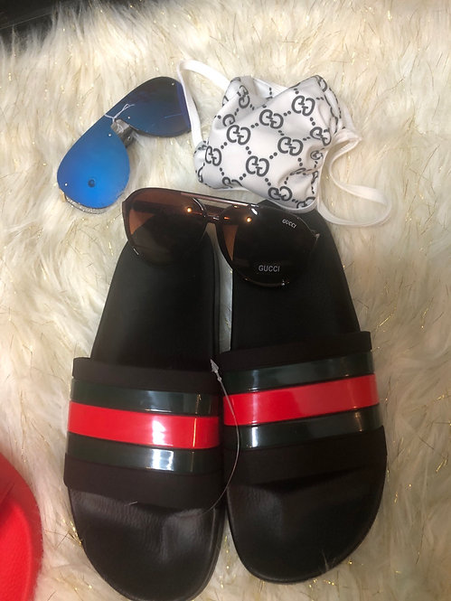 GG shades #50 black and red only