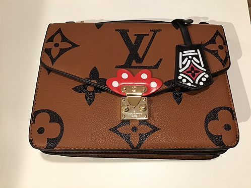 Brown Lv Inspired Bag 9963