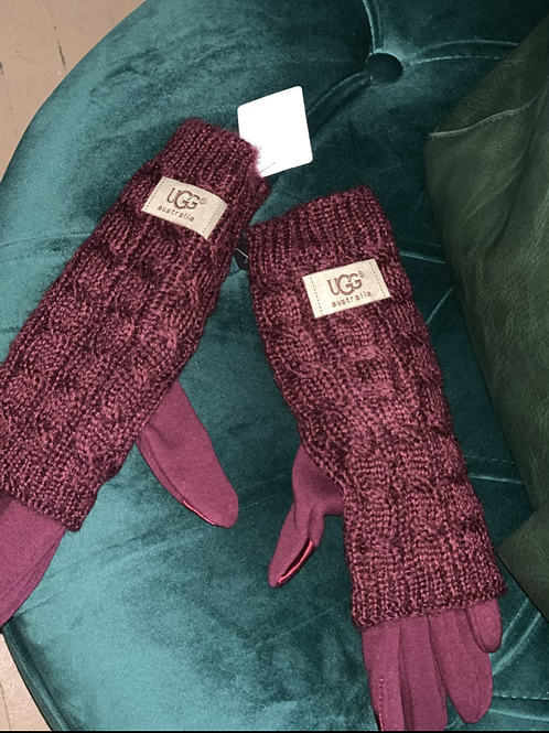 Sweater lined inspired UGG gloves