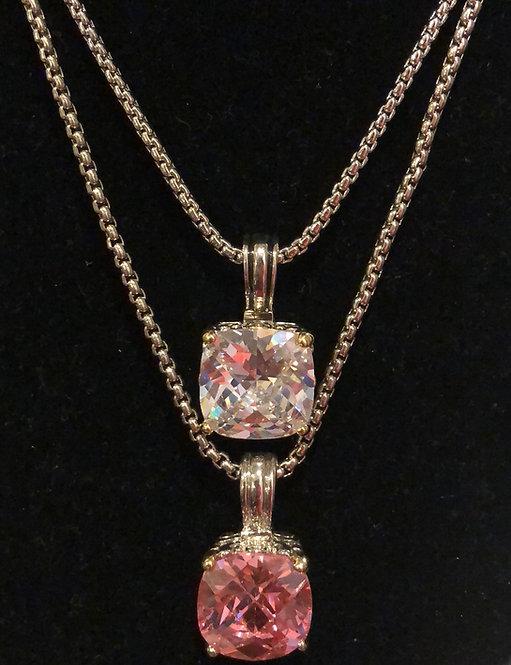 Designer style large stone  necklace