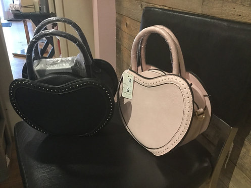 Heart shape purse with wallet