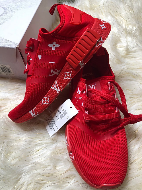 Supreme red Sneakers Lv  special  edition #67