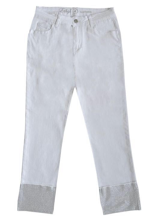 THE ETYHYL ALMAZ WHITE JEAN Z92545WH