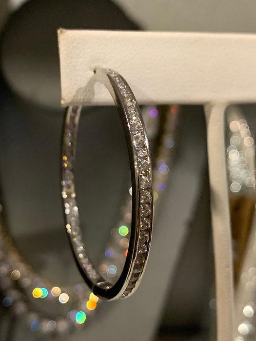 Large stainless steel  hoops