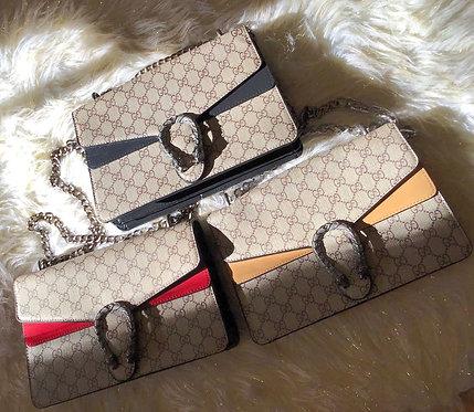 GG Bag with Snake Buckle
