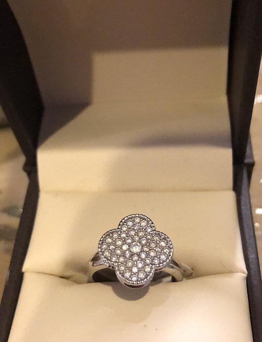 Designer style  CZ ring sizes 6